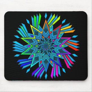 Star Twirl Mouse Pad