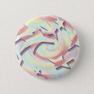 Star Twirl Pinback Button