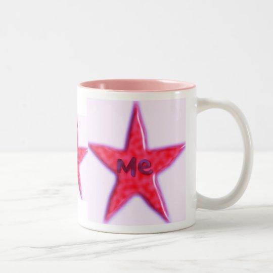 star Two-Tone coffee mug