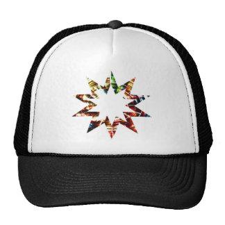Star V2 - Sparkle Red Star Trucker Hat