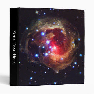 "Star V838 Monocerotis (Hubble Telescope) 1"" Binder"