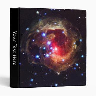 "Star V838 Monocerotis (Hubble Telescope) 1"" 3 Ring Binders"