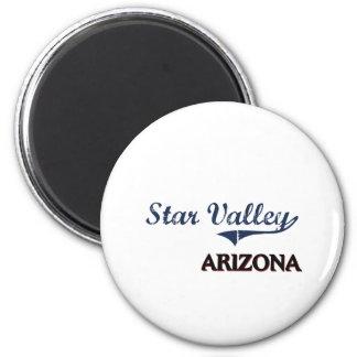 Star Valley Arizona City Classic Fridge Magnets