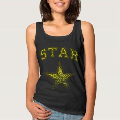 STAR, VINTAGE TANK TOP