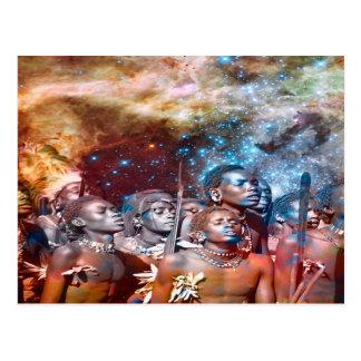 Star Warriors Postcard
