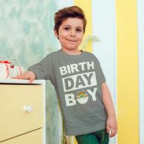 Star Wars Birthday Boy   The Child - Name & Age T-Shirt