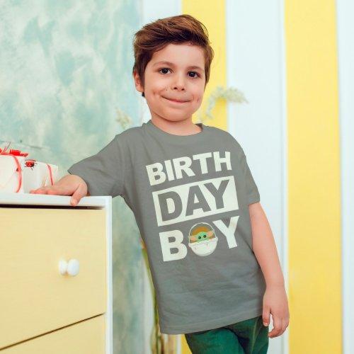 Star Wars Birthday Boy  The Child _ Name  Age T_Shirt