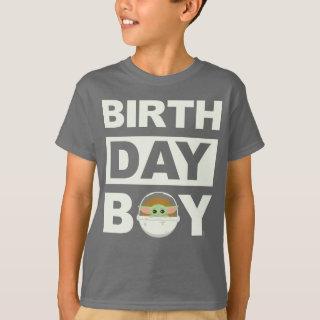 Star Wars Birthday Boy | The Child - Name & Age T-Shirt