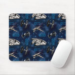 Star Wars | Blue Vehicle Classic Pattern Mouse Pad
