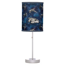 Star Wars | Blue Vehicle Classic Pattern Table Lamp