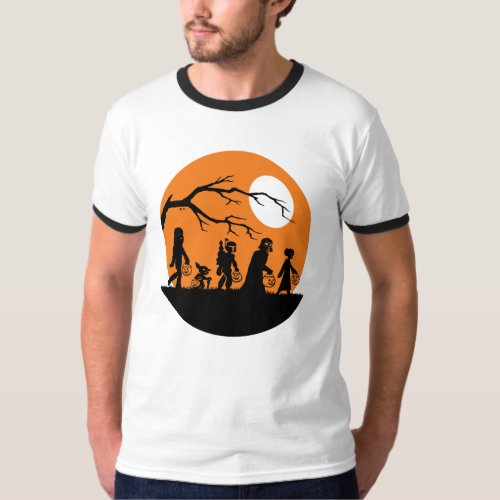 Star Wars Characters  Trick or Treat T_Shirt