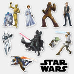Star Wars | Classic Characters Sticker