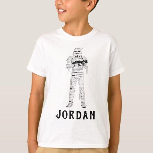 Star Wars  Halloween Mummy Trooper T_Shirt