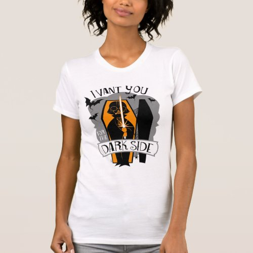 Star Wars  I Want You for the Dark Side T_Shirt