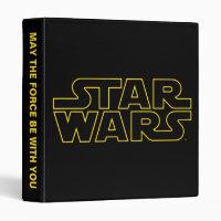 Star Wars Lined Logo 3 Ring Binder