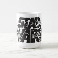 Star Wars Logo | X-Wing & TIE Fighter Battle Coffee Mug
