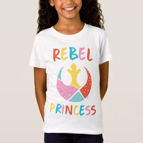 Star Wars  Rebel Princess T_Shirt