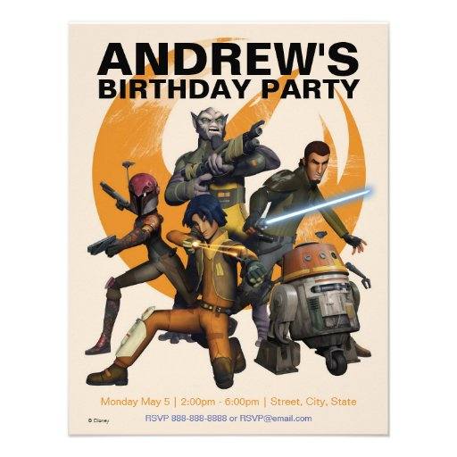 Star Wars Personalized Birthday Invitations for best invitation example