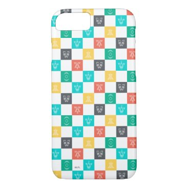 Star Wars Resistance   Aces Icon Checker Pattern iPhone 8/7 Case