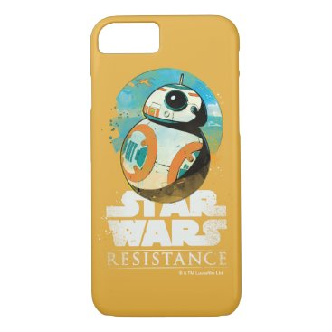 Star Wars Resistance   BB-8 Badge iPhone 8/7 Case
