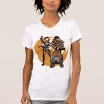 Star Wars Sabine, Ezra and Chopper T Shirts