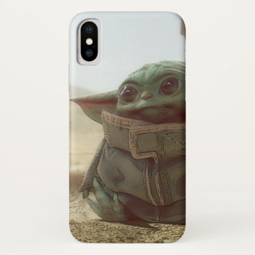 Star Wars  The Child iPhone X Case