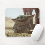 "Star Wars | The Child Mouse Pad<br><div class=""desc"">Fully embrace the cuteness of the 50-year-old Yoda species with every wear of this adorable mousepad. He may look like a Baby Yoda, but this lovable creature is referred to as The Child. Featuring artwork inspired by the Disney live-action series with The Child and The Mandalorian logo, this sweet Star...</div>"