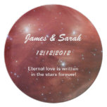Star Wedding Gift Plate
