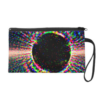 Star with Disk - Not Annotated Wristlet Clutch