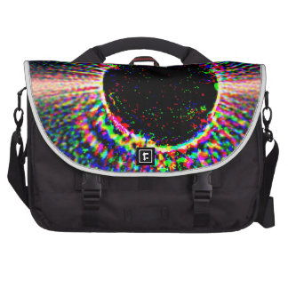 Star with Disk - Not Annotated Laptop Messenger Bag