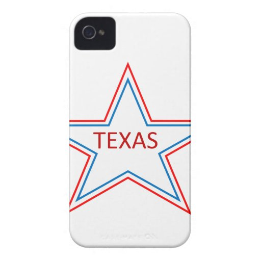 Star with Texas in it. iPhone 4 Covers
