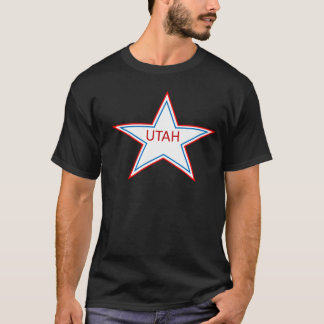 Star with Utah in it. T-Shirt