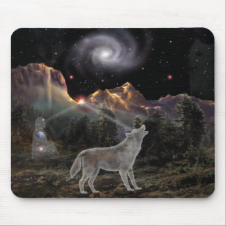 Star Wolf Mouse Pad