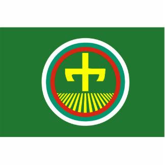 Stara Zagora (revés), bandera de Bulgaria Escultura Fotográfica