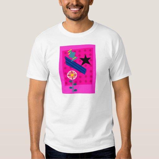 Starbird con la flor playeras