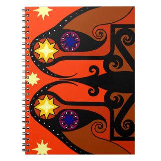 Starbirds notebook (Red)