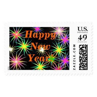 Starblast New Year Black Stamp