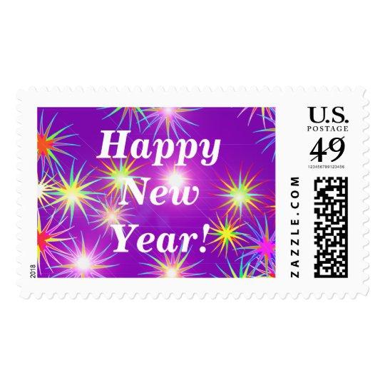 Starblast New Year Purple Postage