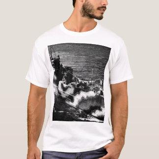 Starboard bow view of U.S. ship LCI 772_War Image T-Shirt