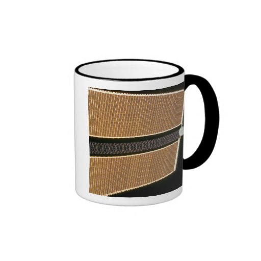 Starboard solar array wing panel coffee mugs