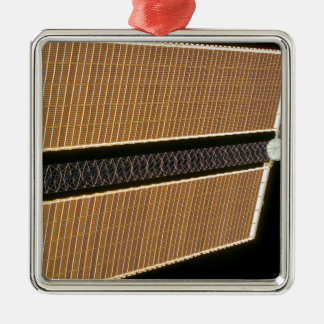 Starboard solar array wing panel metal ornament