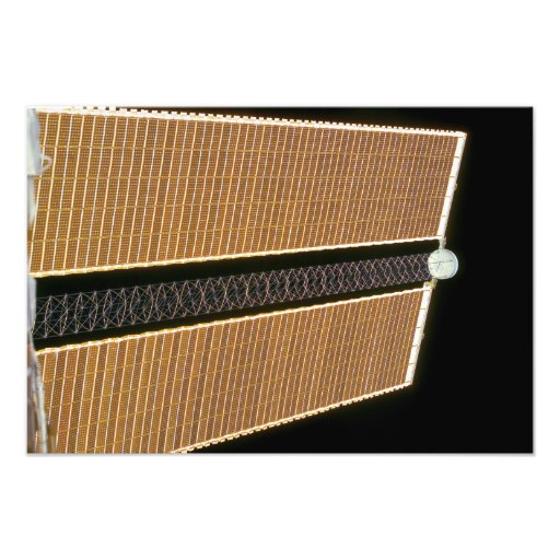 Starboard solar array wing panel photographic print