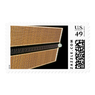 Starboard solar array wing panel postage
