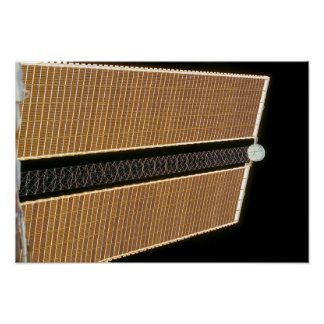 Starboard solar array wing panel poster