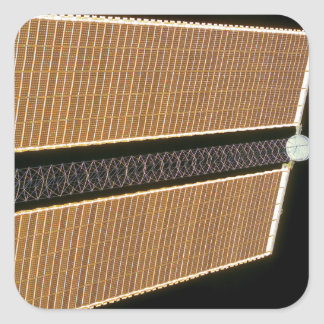 Starboard solar array wing panel square sticker