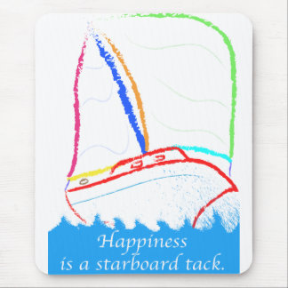Starboard Tack Mouse Pad