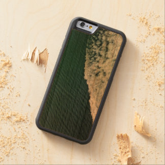 Starboard Wake Carved Wood Phone Case