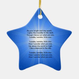 Starbright Starlight Ceramic Ornament