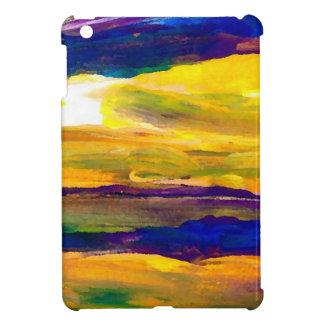 Starbright Sun Seascape Ocean Waves Art iPad Mini Case