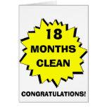 Starburst 18 meses limpia tarjetón